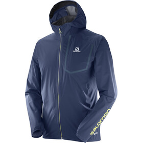 Salomon Bonatti Pro WP Running Jacket Men blue